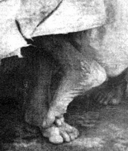 Feet of Shirdi Sai Baba